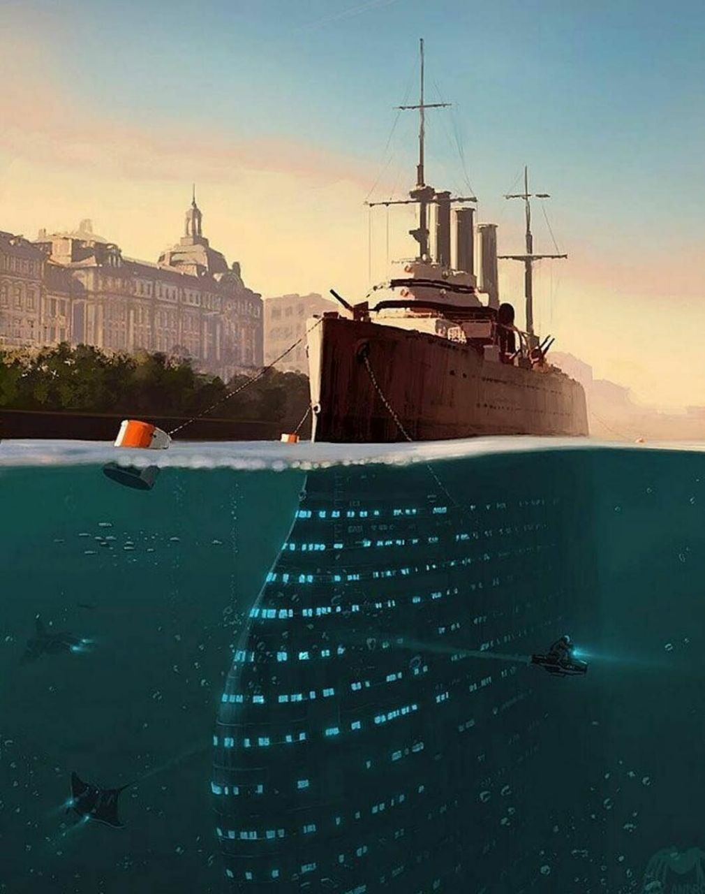 Если ты хочешь построить корабль, не надо созывать людей, планировать, делить...