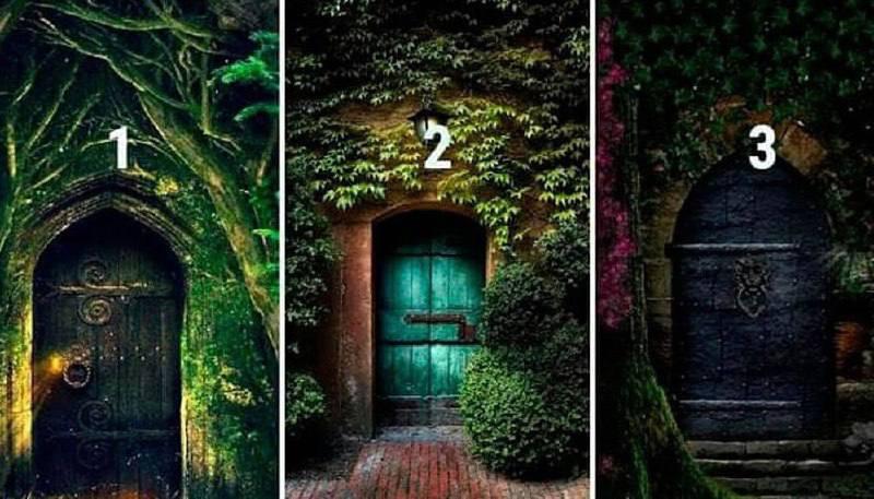 ️ Выбери дверь, а я угадаю ТАЙНЫ ТВОЕЙ ЛИЧНОСТИ прямо сейчас.  Почти 100%-я...