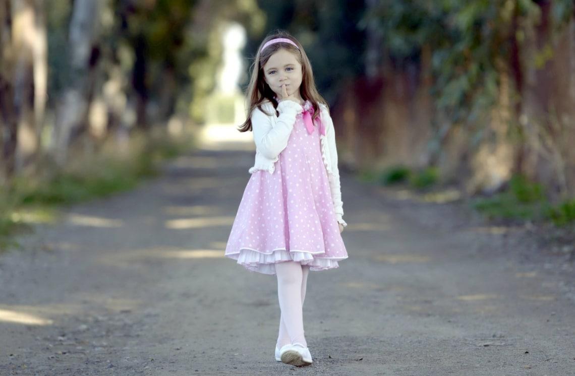 Розовое платьице  Одна девочка пришла в садик нарядная. Первый раз за всё...