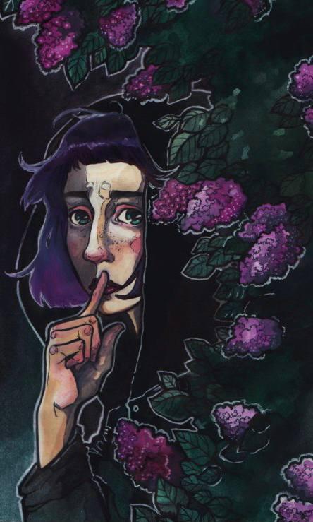 Жилa-была женщина, у которой было два больших кувшина. Они свешивались по...