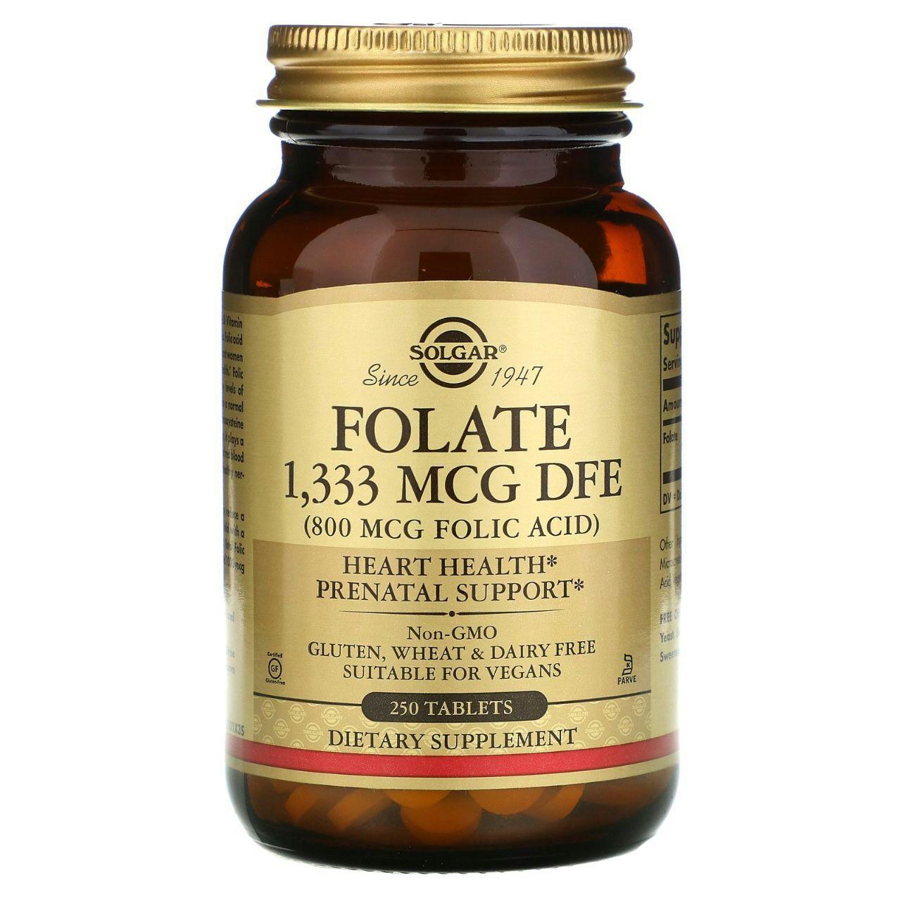 Что такое фолиевая кислота и зачем она нужна организму?  Для множества...