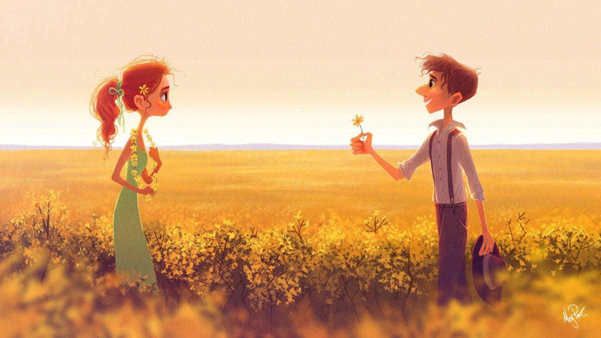 Идеальные отношения — это по-детски чистые чувства и по-взрослому серьёзные...