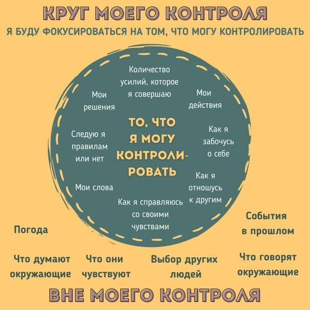 Невозможно контролировать все аспекты жизни  Невротикам потому и живется так...
