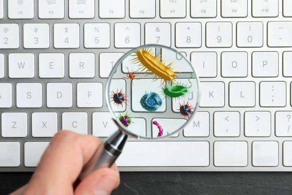 ️ Держите клавиатуру компьютера в чистоте.  Подумайте, сколько времени выф...