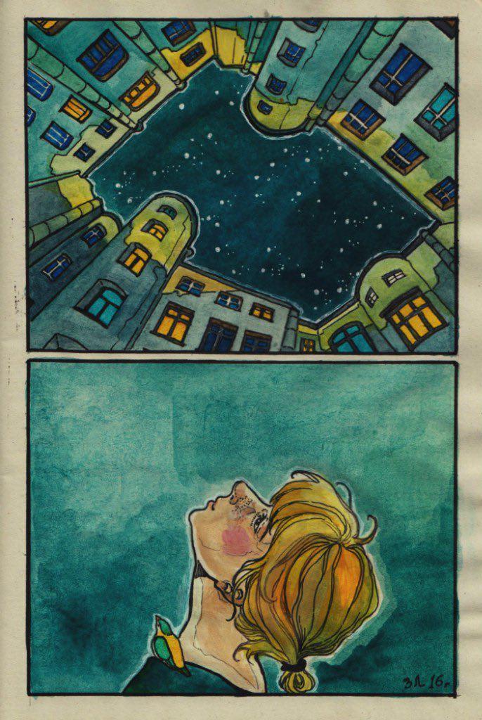 «Я это состояние знаете как называю? Не с кем смотреть на звезды. Да-да, не...