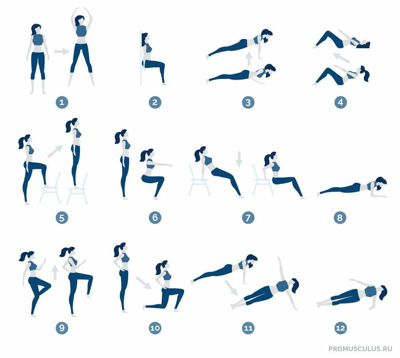 Короткие интервальные тренировки — отличный способ поддерживать форму для тех...