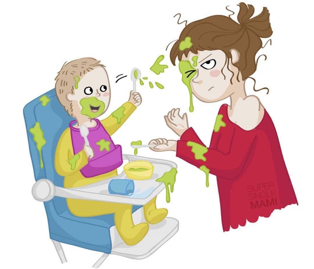 Почему в декрете тяжело  Дорогая от чего ты устала?, - говорит муж, придя с...