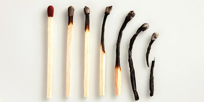 Выгорание  Признаки выгорания: Чувство усталости, которое не проходит даже...