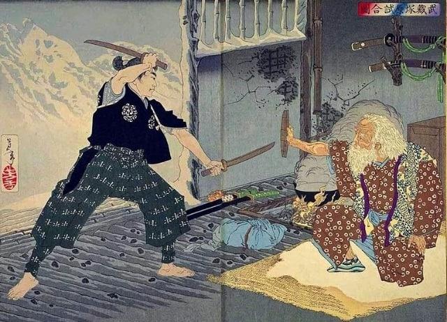 Притча про злость и зависть  Жил-был старый самурай. У него была группа...